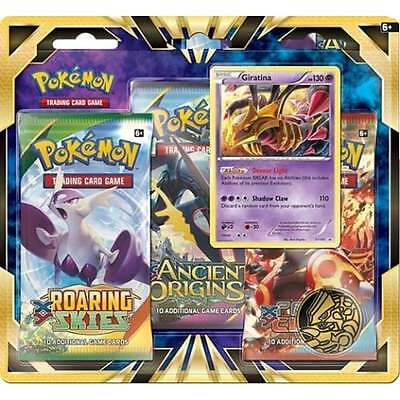 Pokemon TCG: Giratina 3-Pack Blister (Sealed Box of 12 Triple Packs)