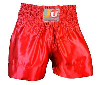 "Ju-Sports Thaiboxhose ""color"" uni rot 88012"