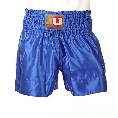 "Ju-Sports Thaiboxhose ""color"" uni blau 88013"