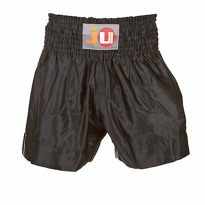 "Ju-Sports Thaiboxhose ""color"" uni schwarz 88010"