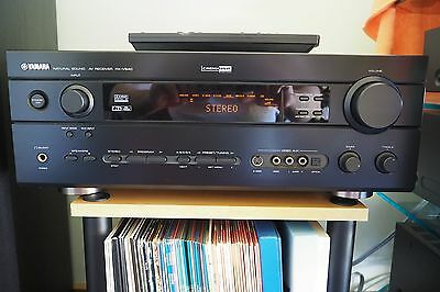 Yamaha RX-V640 6.1 channel receiver amplifier with remote and manual