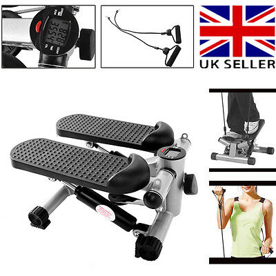 Home Gym Exercise Mini Stepper Legs Arms Thigh Fitness Aerobic Workout Machine