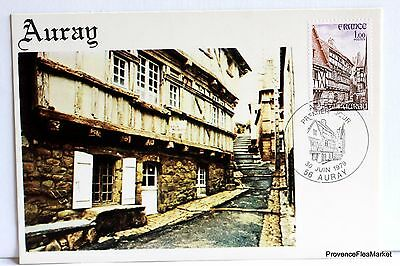 Yt 2041 A AURAY   CARTE MAXIMUM 1° JOUR FCP