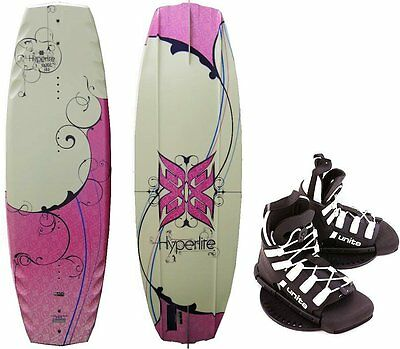 HYPERLITE OPAL 132 Wakeboard Package with Unite Wakeboardbindung