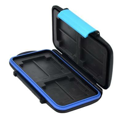 Memory Hard Case Card Holder for 8x SD SDHC Card Waterproof Anti-shock Drop