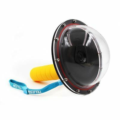 6'' Dome Port Underwater Diving Camera Lens Housing Case for Xiaomi Yi 1