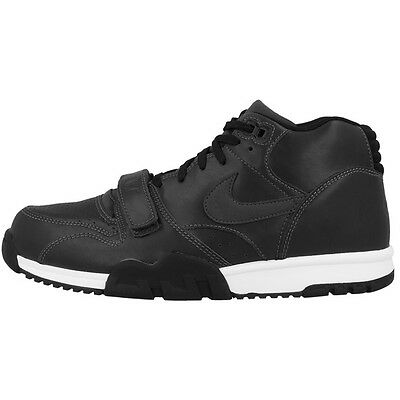 Nike Air Trainer 1 Mid Schuhe High Top Sneaker anthracite black 317554-004 Force
