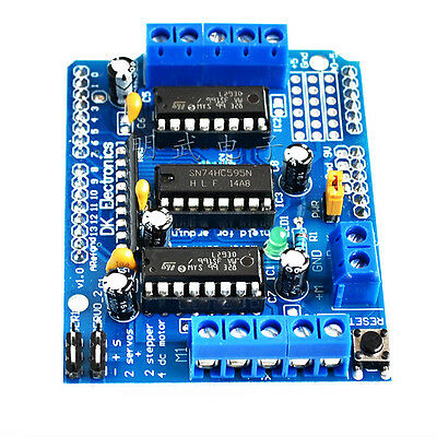 L293D Motor Drive Expansion Shield Board Module For Arduino Duemilanove Mega UNO