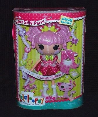 Lalaloopsy Super Silly Party Limited Edition Jewel Sparkles Large Doll BNIB