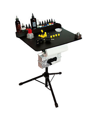 Portable Tattoo workstation - Compact stand ready to travel UK DISPATCH