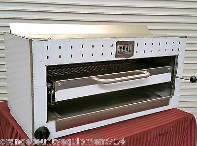 "NEW 36"" Salamander Gas Infrared Broiler #2959 Cheese Melter Commercial NSF Fish"