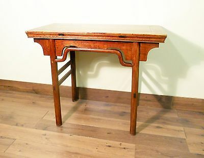 Antique Chinese Ming Console (Wine Table) Table (5580), Circa 1800-1849