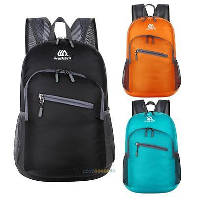 NEW 15L Unisex Outdoor Hiking Bag Camping Travel Waterproof Backpack Foldable