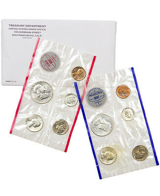 1960 United States US Mint Uncirculated Coin Set SKU18663