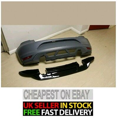 New Vw Polo Gti 2014 - 2016  Rear Bumper *fits All Polo From 2009 +