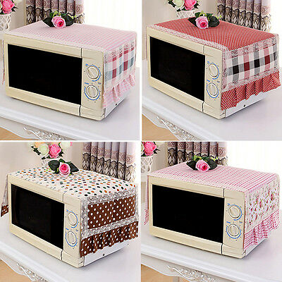 Home Decor Microwave Oven Cover Oven Cover Household Cloth Art Dust Cover Hot