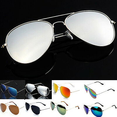 Unisex Vintage Retro Women Men Glasses Vintages Mirror Lens Sunglasses Fashion