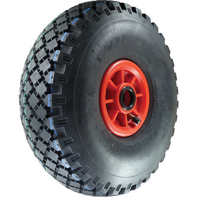 Atlas Workholders Pneumatic Tyre Poly Ctr300Mm-25Mmb Wheel R/Brg