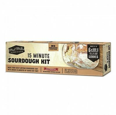 New Mad Millie 15 Minute Sourdough Kit Delicious Hand Made Preservative Free