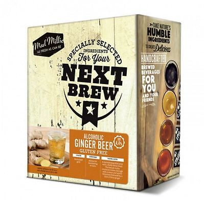 New Mad Millie Your Next Brew Alcoholic Gluten Free Ginger Beer Kit Sweetener