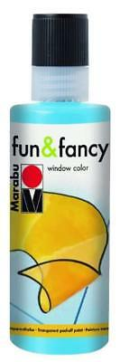 Marabu Window Color fun & fancy Fenstermalfarbe 80ml 090 HELLBLAU abziehbar