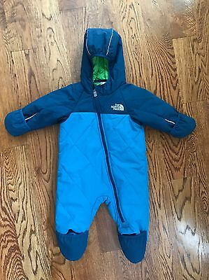 North Face Baby Boy Snowsuit Bunting 6-12 Months
