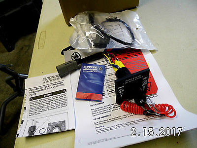 Brp Evinrude Johnson Ignition Kit With 2 Keys 0176408