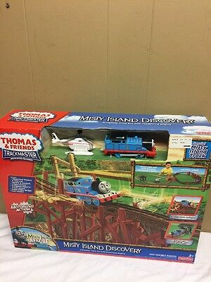 Fisher Price THOMAS AND FRIENDS Trackmaster Misty Island Discovery NEW!!!