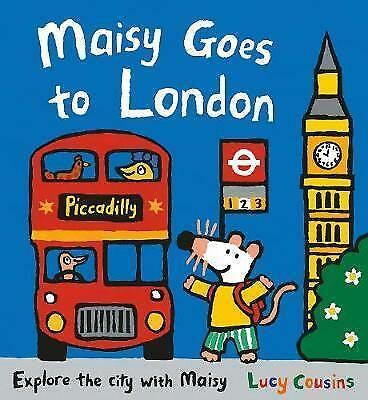 Maisy Goes to London by Cousins, Lucy | Paperback Book | 9781406372205 | NEW