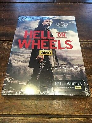 Hell on Wheels: Season 4 (DVD, 2015, 4-Disc Set) Brand New Sealed!!!
