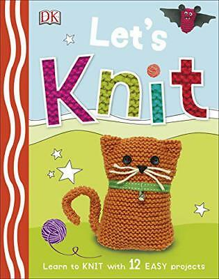 Let's Knit (Dk) by DK | Hardcover Book | 9780241197233 | NEW