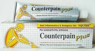 CounterPain Plus Analgesic Pain Releif Gel Muscle Pain 50g.