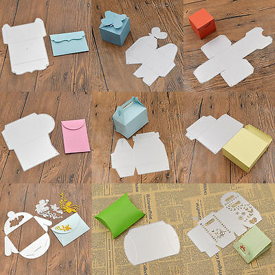 Envelope Cutting Dies Scrapbooking Stencil DIY Embossing Album Box Metal Gift