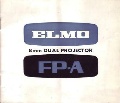 Elmo 8MM Dual Projector FP-A