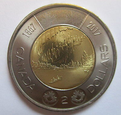 2017 Canada $2 1867-2017 150Th Anniversary Of Canada Proof-Like Coin