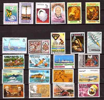 GRENADA/Grenadines:Timbres neufs , usages courants, sujets divers H256