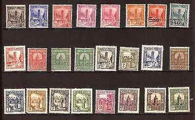 TUNISIE FR 1926/1934  neufs :usages courants , sujets divers   G217