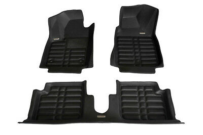 TuxMat Custom-fit 3D Car Floor Mats for Fiat 500 2-Door 2009-2019 Models
