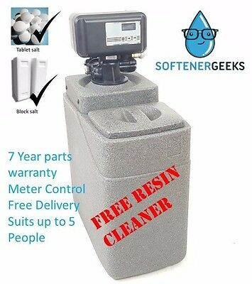 Stock clearance! Softenergeeks Electronic Meter Control Water Softener