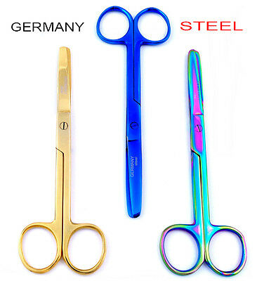 Germany Nurses Scissor Titanium Bandage Veterinary First Aid Kit Blunt Rounded
