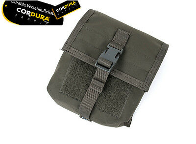 TMC Matte RG Grey Tactical NVG Molle Battery Pouch Bag Case airsoft paintball