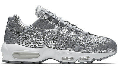 timeless design bb19f 4ab70 2015 NIKE AIR MAX 95 ANNIVERSARY QS PURE PLATINUM UK 8 US 9 deluxe 818721-