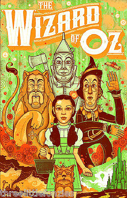 The Wizard of Oz - Graham Erwin screenprint poster mint S/N