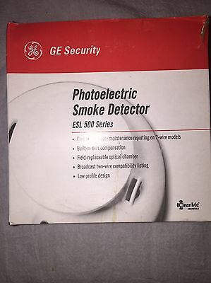 GE 521BXT 2 Wire Photoelectric Smoke Detector. Brand New In Box