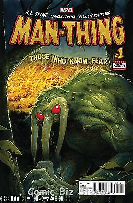 Man-Thing #1 (Of 5) (2017) 1St Printing Bagged & Boarded