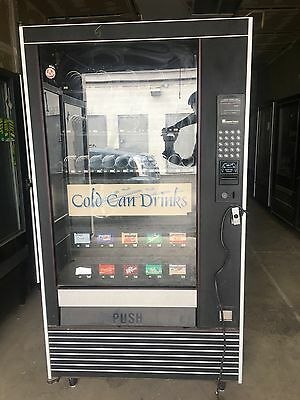 Automatic Products LCM 4 Combination Snack Can/Soda Vending Machine 3 Available