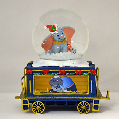 Together is the Best Dumbo Mickey Mouse Mini Express Snow Globe Train #10 Disney