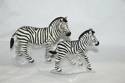 Zebra & Zebra Foal Wild Safari® Wildlife Replica, Ltd. #271729 & #271829