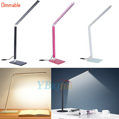 NEW Dimmable SMD 48-LED Table Lamp Desk Bedroom Study Reading Light 110/220/240V