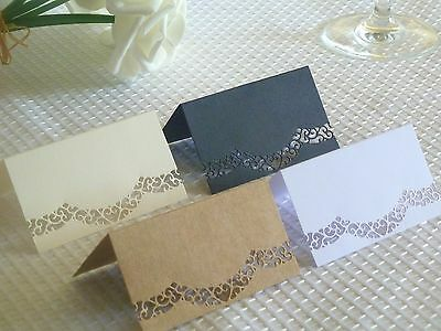 10-200 Place Cards Blank 4 Colours Wedding Engagement